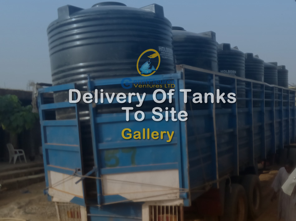 Delvery of Tanks to Site
